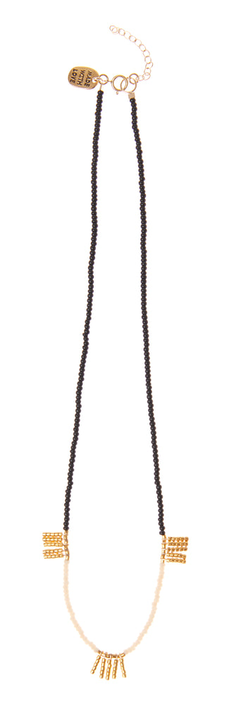 5 Bar Block Kisongo Necklace