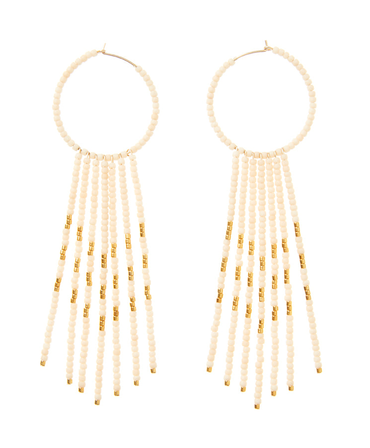 Porcupine Earrings - PINK/GOLD