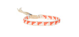 XS Triangle Warrior Bracelet - WHITE/SALMON
