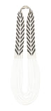 Warrior Necklace Chevron - BLACK/WHITE