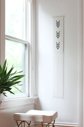 Long Multi V Wall Hanging