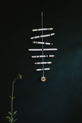 7 Stick Hanging Mobile
