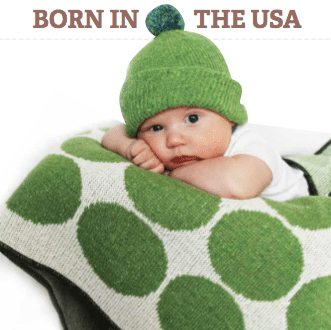 Environmentally Friendly Baby Blankets