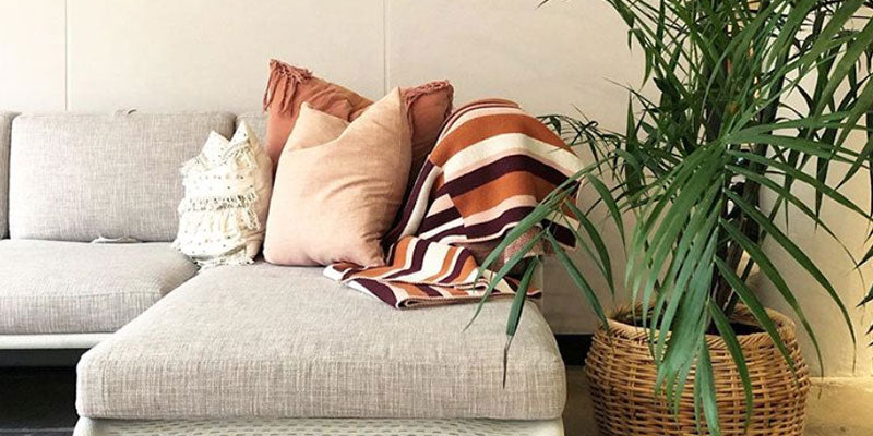 plant eco friendly blanket throw