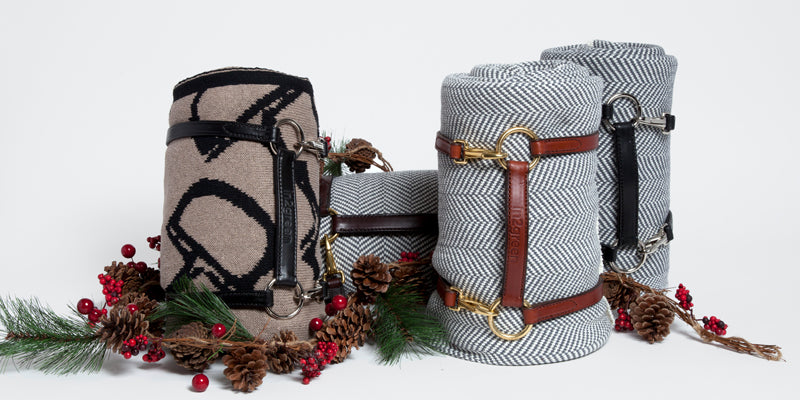 eco friendly throws bundled holiday gifts