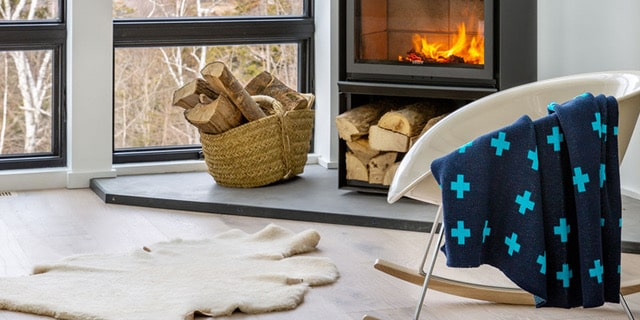 blue indoor/outdoor eco throw