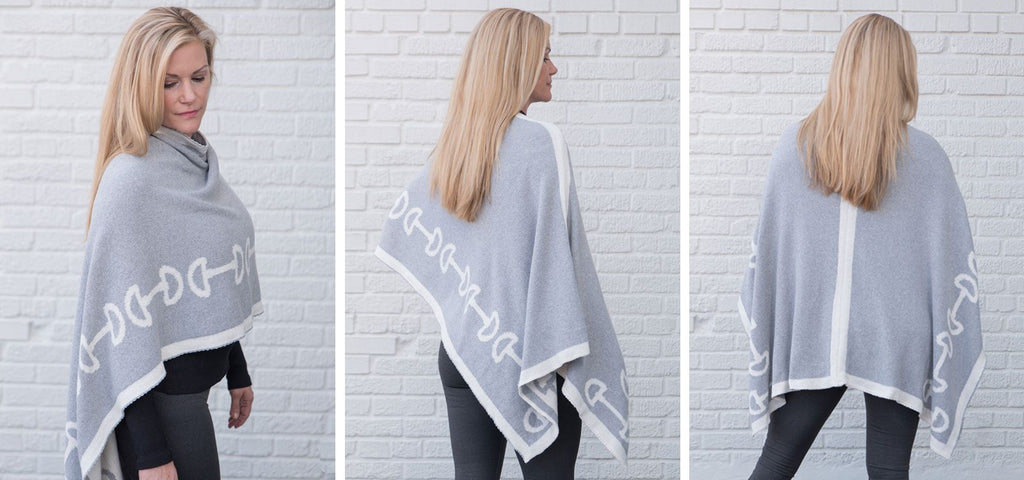 eco-friendly equestrian poncho