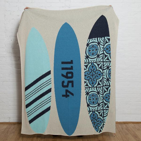 custom surfboard eco throw