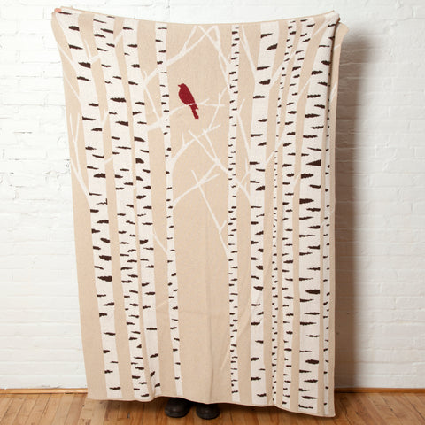 Eco Birch Tree Throw