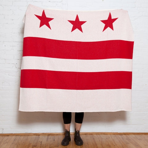 Eco D.C. Flag Throw