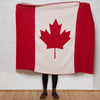 Eco Canadian Flag Throw