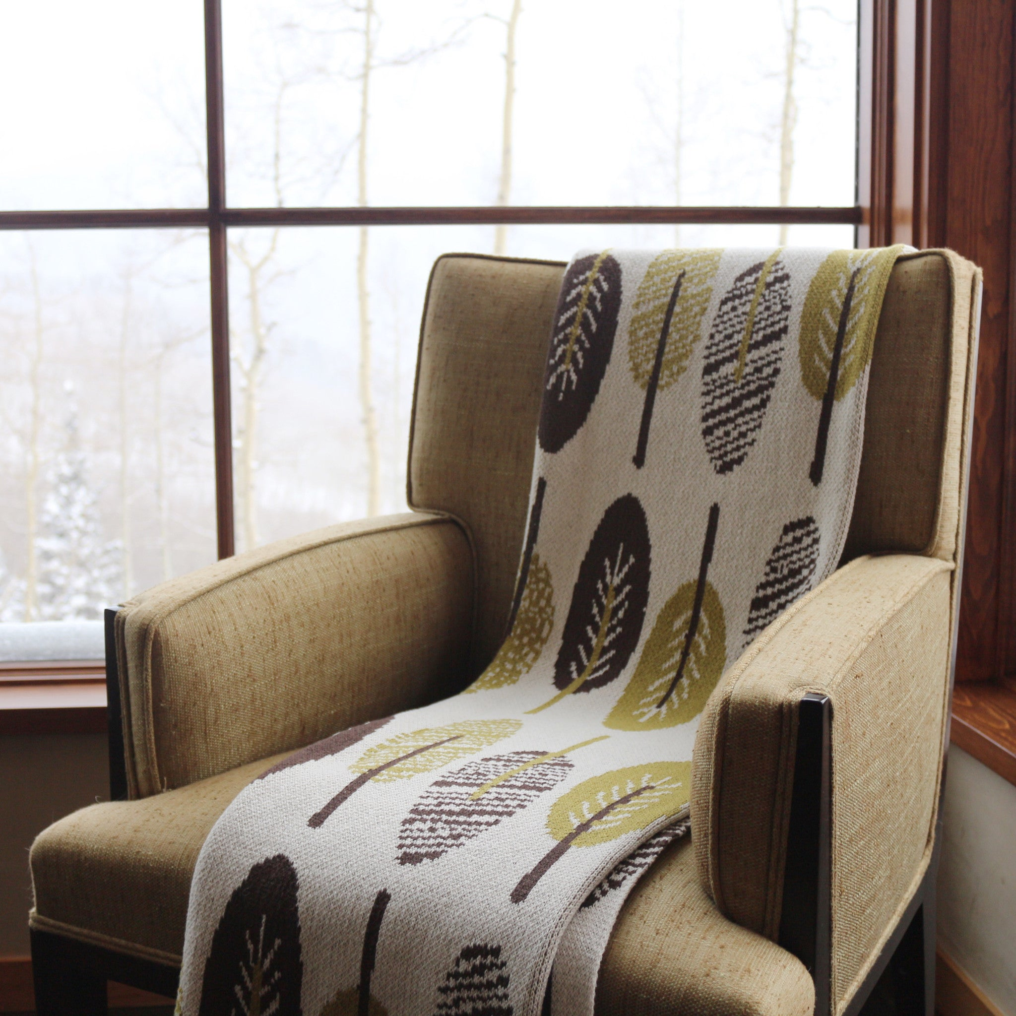Peachy Eco Mod Leaf Throw Download Free Architecture Designs Scobabritishbridgeorg
