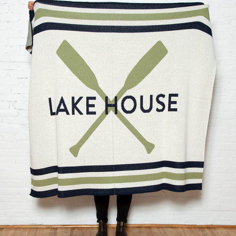 Eco Lake House Throw