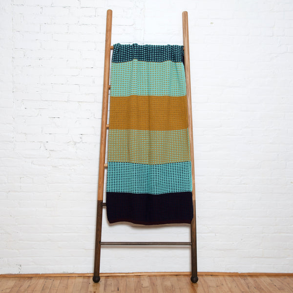 Eco Stitch Stripe Throw by Stacy Garcia