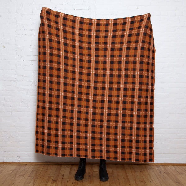 Eco Hudson Plaid Throw