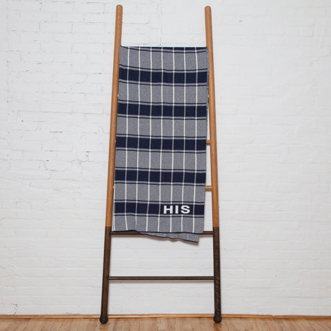 Eco Bold Plaid HIS and HERS Throw