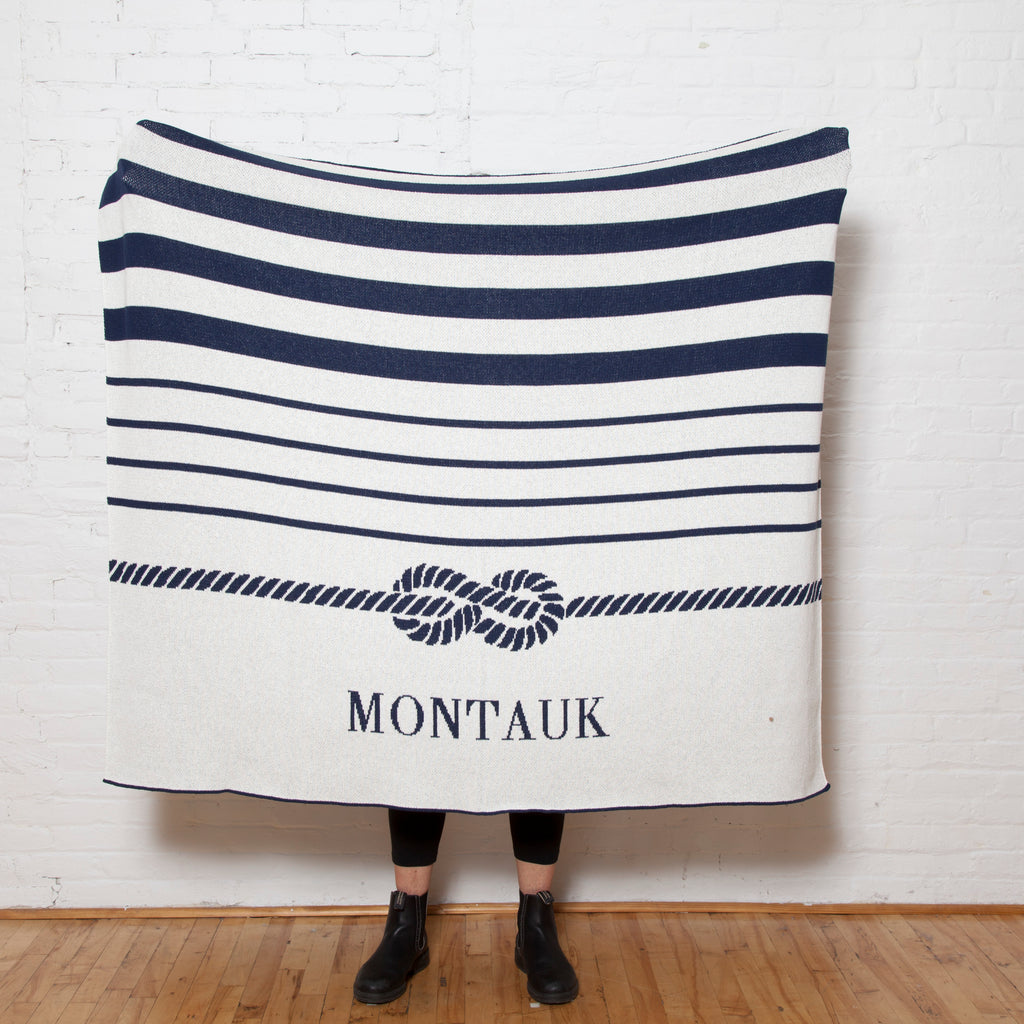 "Eco Tie the Knot ""Montauk"" Throw"