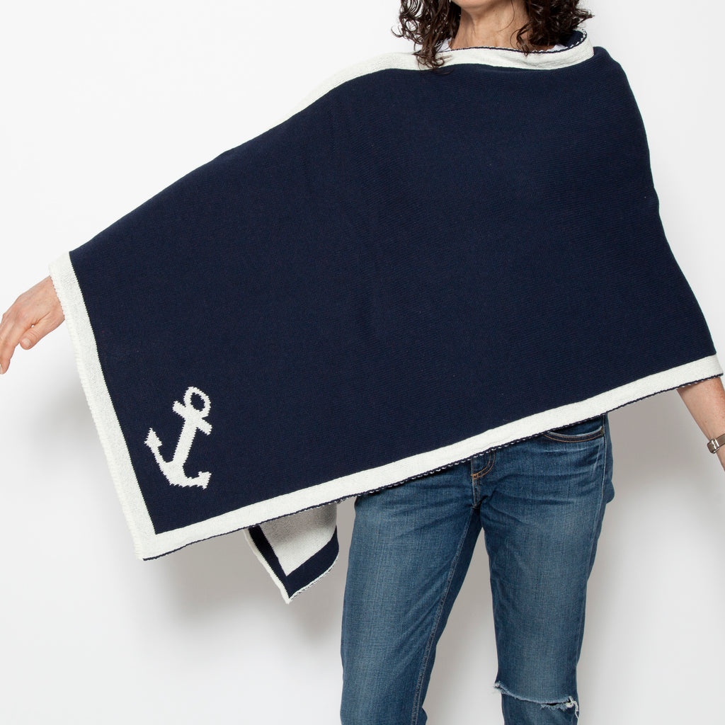 Eco Nautical Anchor Poncho
