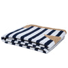 Eco Poly French Stripe Throw