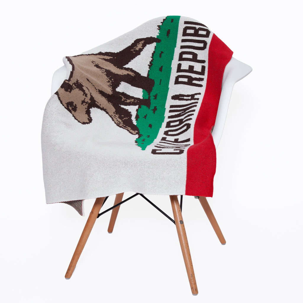 Eco Baby California Flag Throw