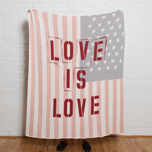 Eco Love is Love Throw