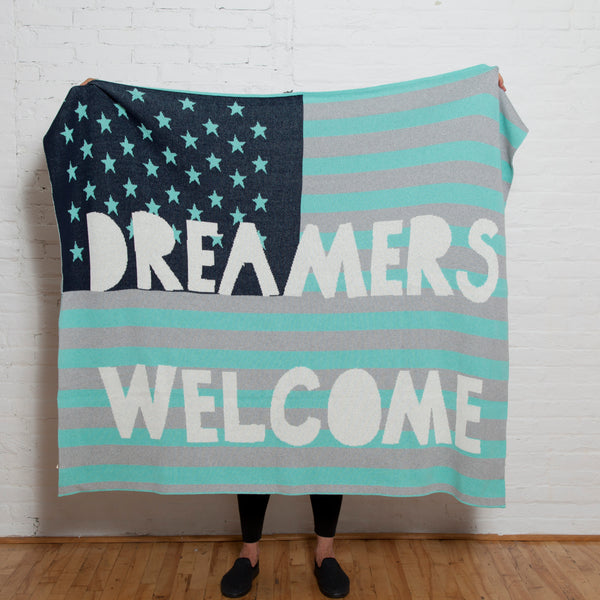 Eco Dreamers Welcome Throw