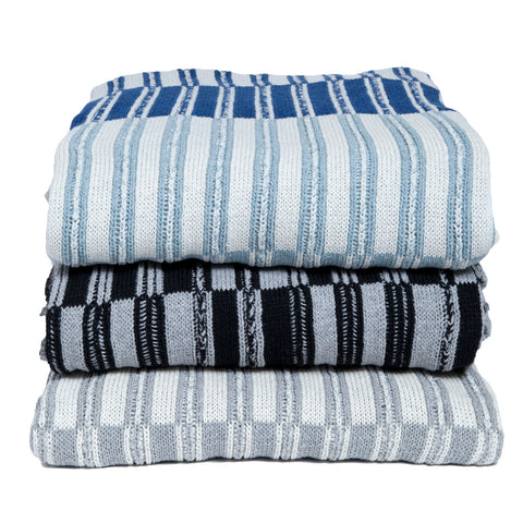 Eco Floating Stripe Throw