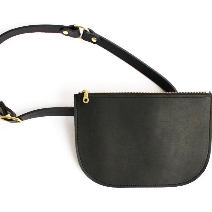 in2green Pop-Up Millie Fanny Pack Black
