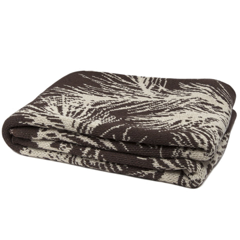Eco Alpine Chocolate Throw