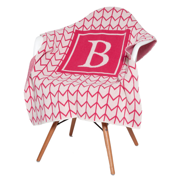 Eco Baby Arrow Personalized Throw