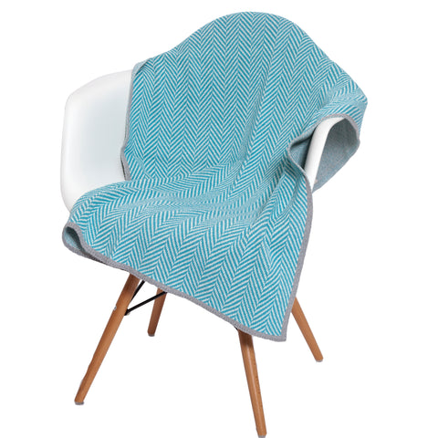 Eco Baby Herringbone Throw