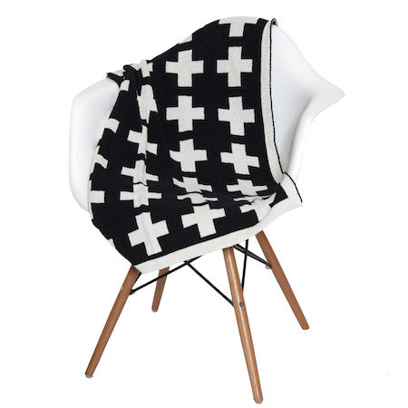 Eco Baby Swiss Cross Reversible Throw