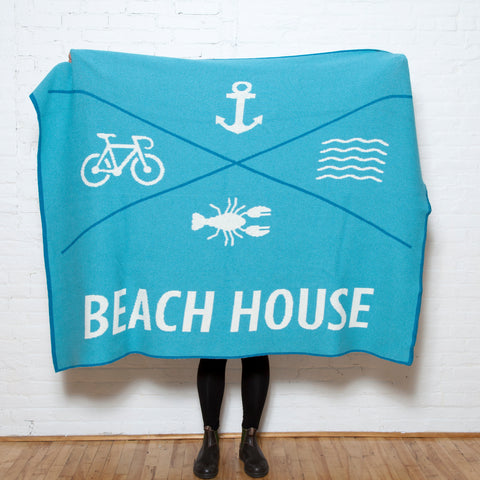Eco Beach House X Throw