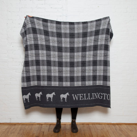 Eco Custom Plaid Horse Throw