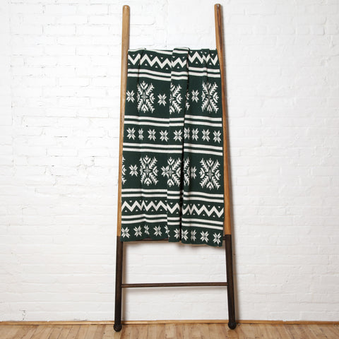 Eco Fair Isle Hunter Throw