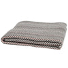 Eco Herringbone Pinstripe Throw