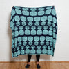 Eco Preppy Pineapple Reversible Throw