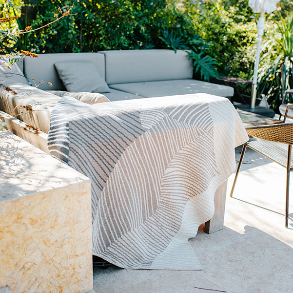 Eco Reef Throw by Jill Malek