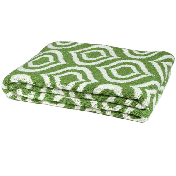 Eco Royal Avocado Throw