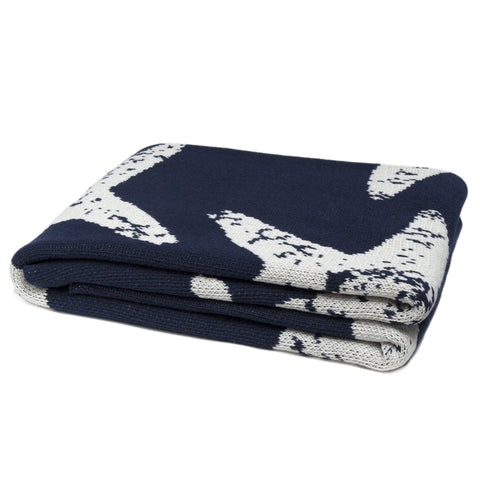 Eco Sea Star Marine Throw