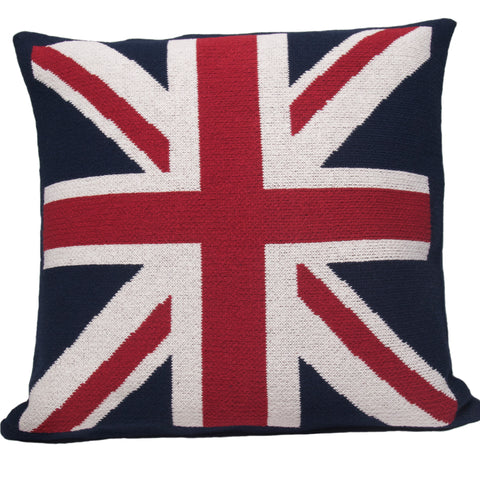 Eco Union Jack Pillow