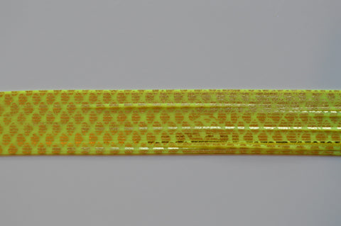 Hot Chartreuse with Gold Chrome silicon skirting-SC3