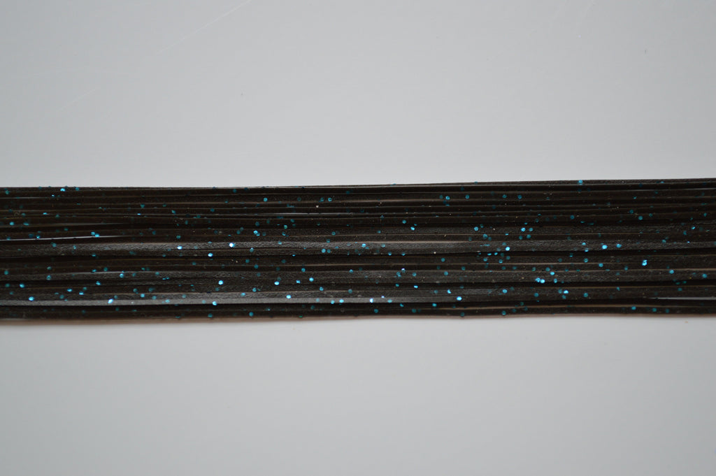 Black with Blue flake silicon skirting-MPF21