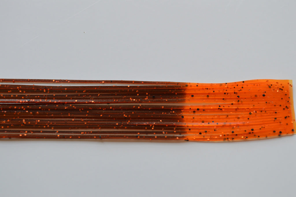 Brown with Orange and Black flake with Orange Tip-FT31