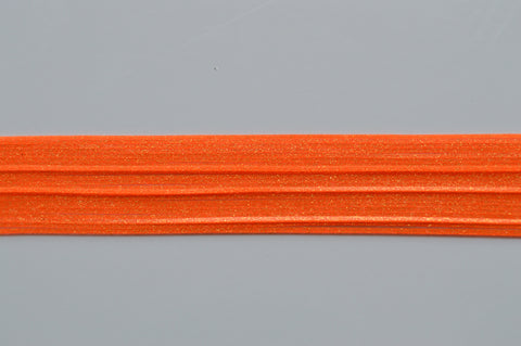 Hot Blaze Orange with Gold flake silicon skirting-FG8