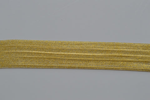 Clear Dark Gold flake silicon skirting-FG10