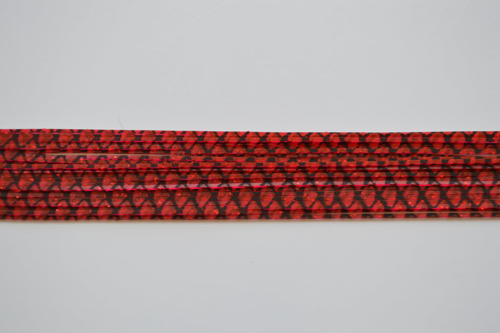 Red with Red flake and Black silicon skirting-FS2