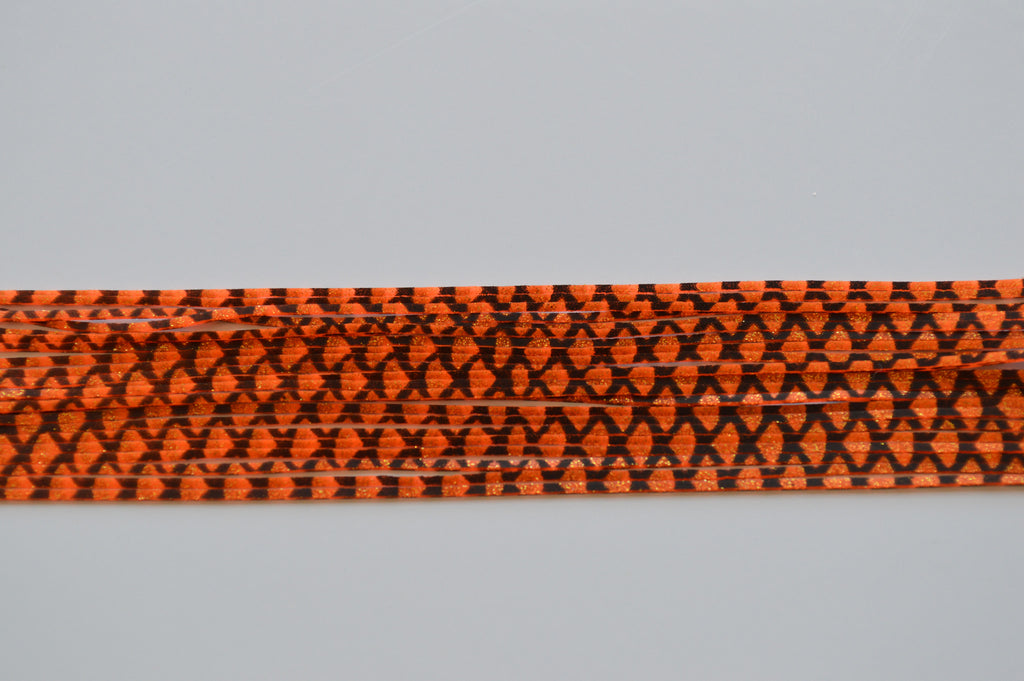 Orange with Black silicon skirting-FS9
