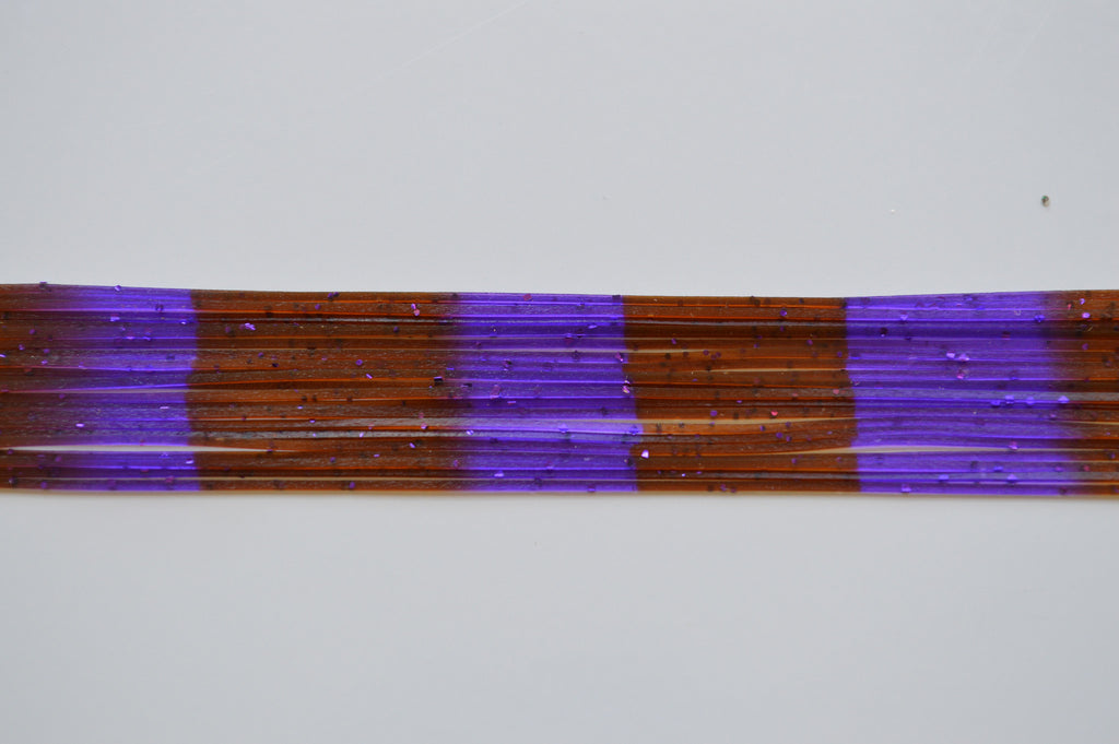 Living Rubber Co Brown With Purple Flake Purple With