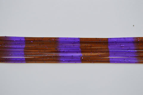 Brown with Purple flake, Purple with Purple stripes-S3